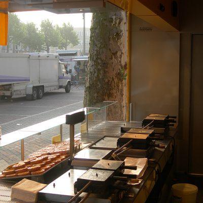 Een blik vanuit onze marktwagen